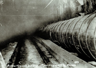 Sutro Tunnel with Pipe