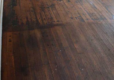 Floor refinished!
