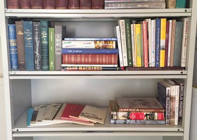 A small part of Nevada book collection
