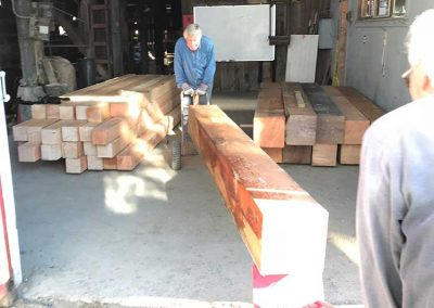 Arrival of new timbers!